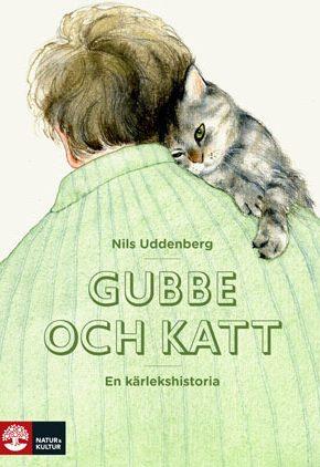 Gubbe och katt. Nils Uddenberg