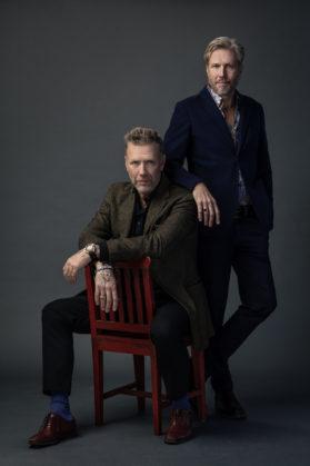 Mikael Persbrandt och Carl Johan Vallgren
